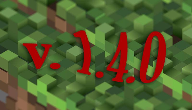 Minecraft 1.4.0