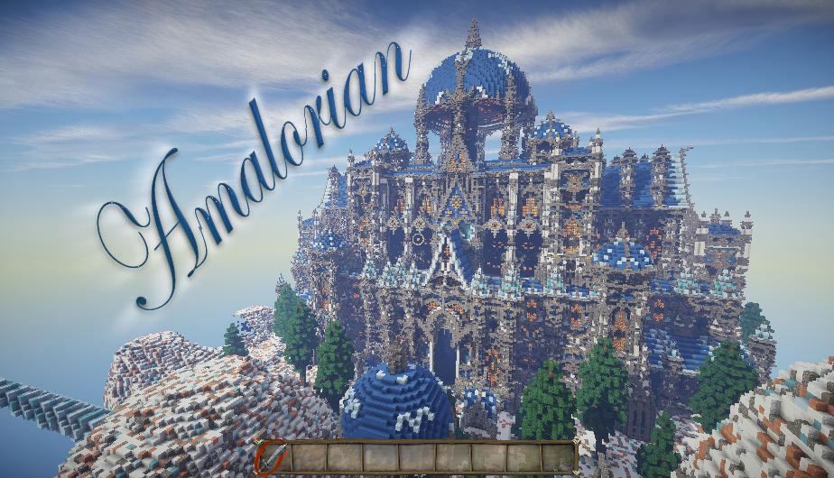 Amalorian - необычный замок