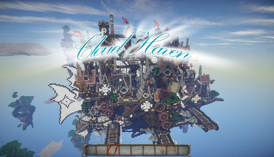 Cloud Haven - летающий город