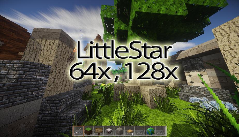 [128x] [64x] Фотореалистичный ресурс-пак LittleStar