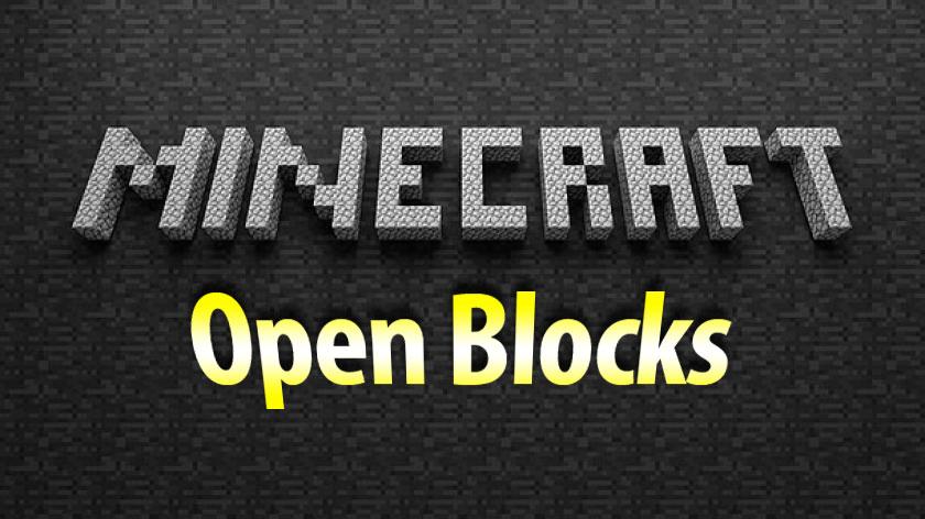 OpenBlocks - новые интересные вещи