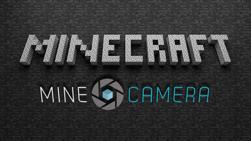 MineCamera - взгляд с камеры с другой стороны