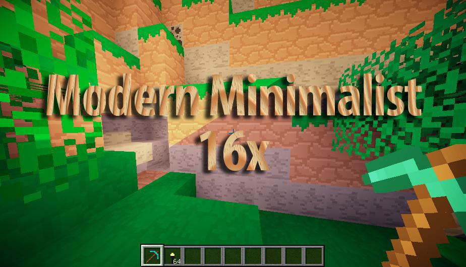 [16x] Modern Minimalist - минималистичный ресурс-пак