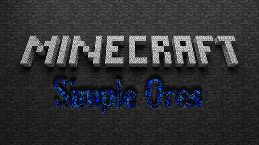 SimpleOres - новая руда