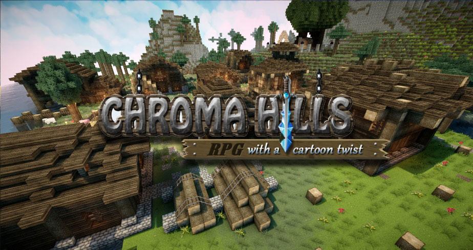 [128x] [64x] Chroma Hills - РПГ текстуры