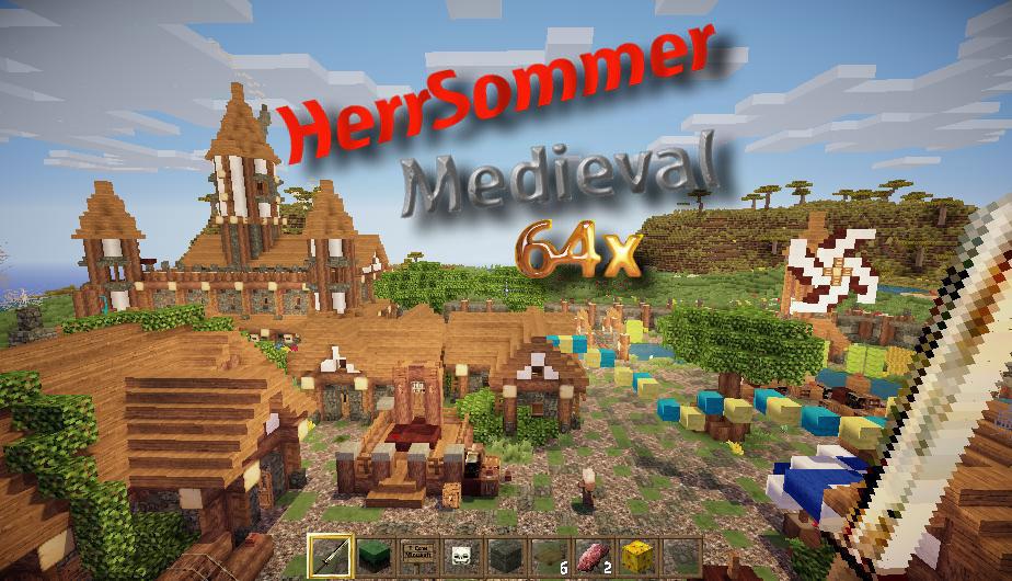 [64x] HerrSommer Medieval - средневековье