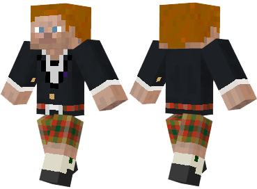 Скин Scottish Steve
