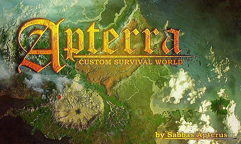 Apterra Map - большая, красивая карта