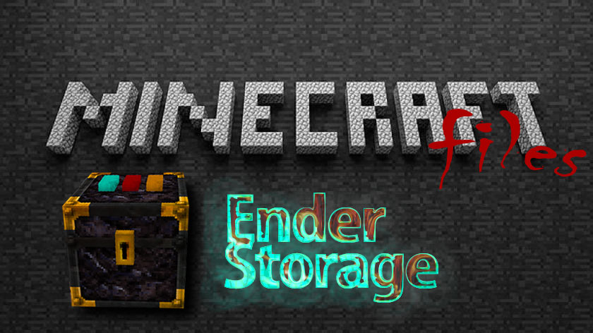 Ender Storage - сундук Эндера