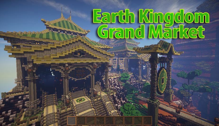 Earth Kingdom Grand Market - шикарный дворец