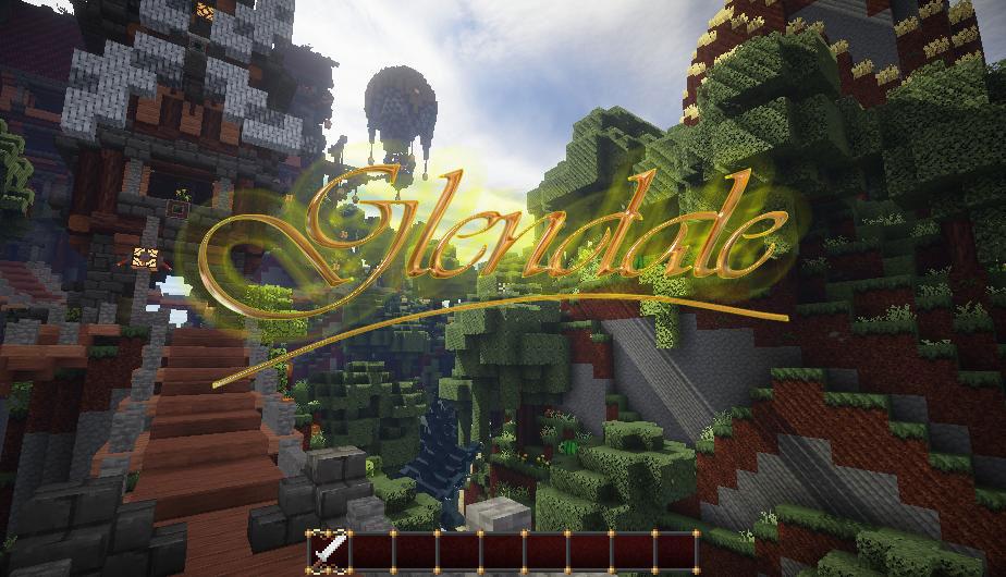 [16x] Glendale 3D Blocks - естественные