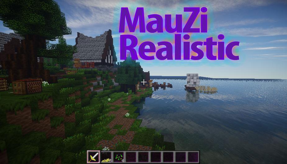 [16x] MauZi Realistic - простой реализм