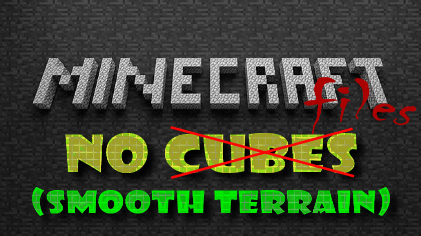 No Cubes (Smooth Terrain) - мир без блоков