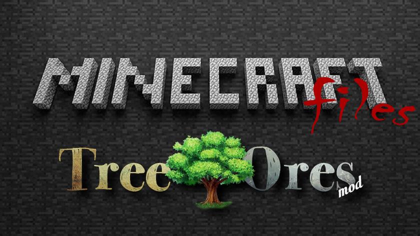 TreeOres - руда на деревьях