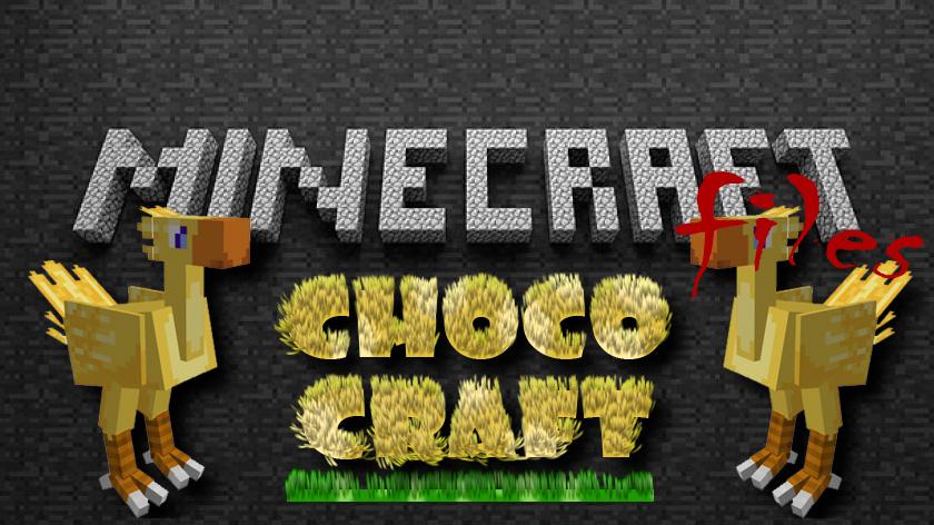 ChocoCraft - новый моб Chocobo