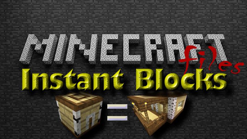 Instant Blocks - быстрые постройки