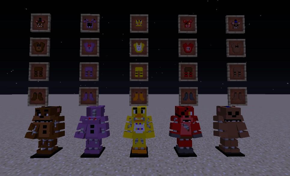 Скачать Five Nights at Freddy's [1.8] для Minecraft