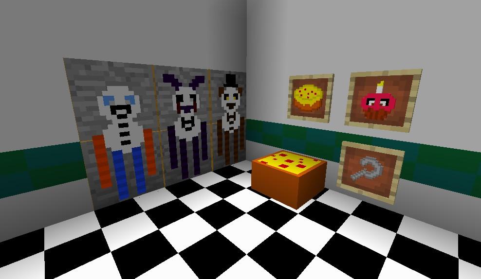 Five Nights at Freddy's 2 [1.8.9] [1.8] [x16] / Ресурспаки ...