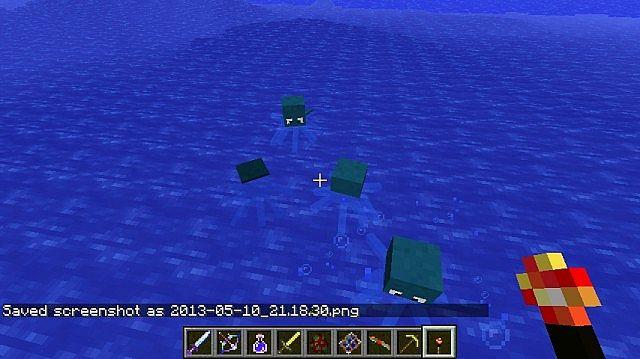 Как сделать портал в моде ore spawn