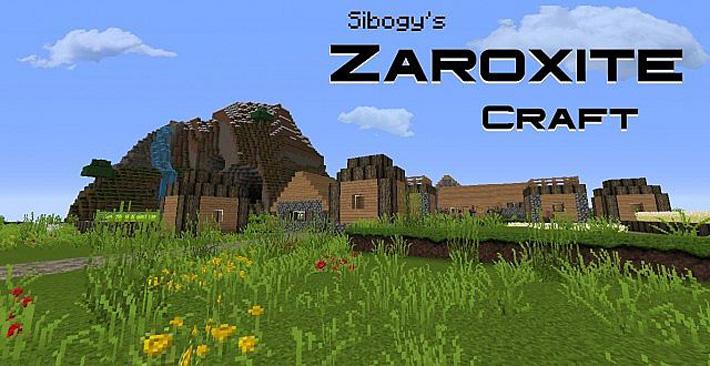 [32x] Sibogy's ZAROXITE Craft - свежие текстуры, анимация, звуки