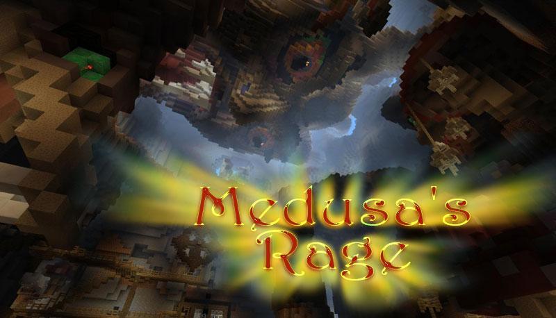 Medusa's Rage - арена мобов