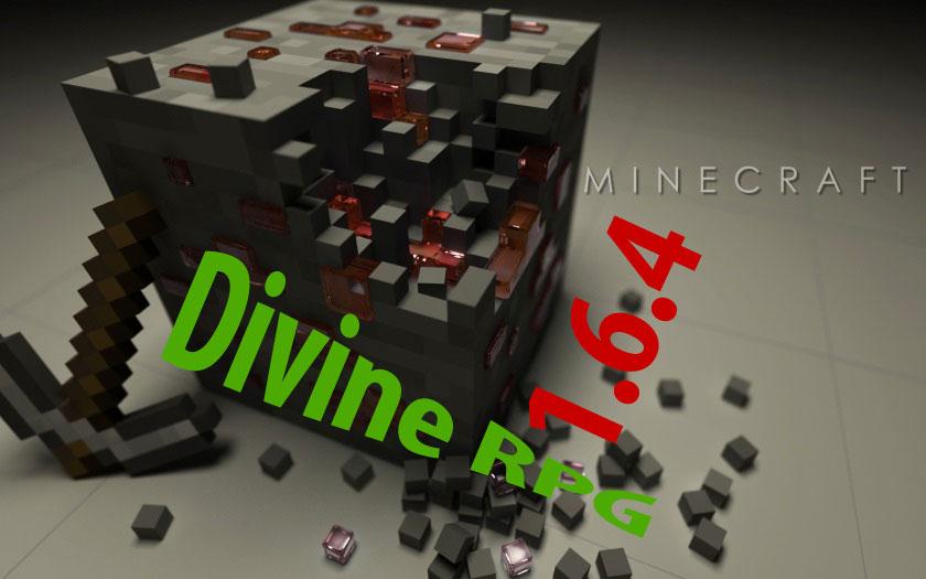 Готовый клиент Майнкрафт 1.6.4 с модами Divine RPG