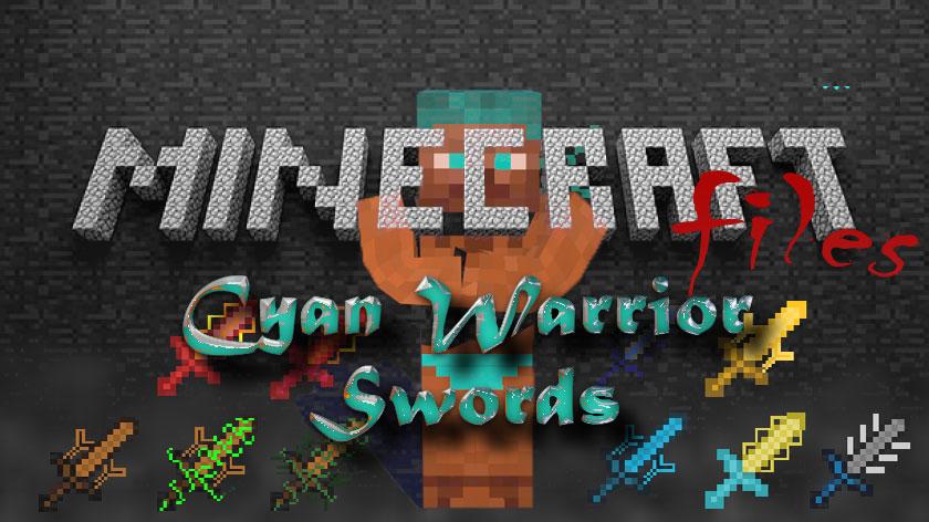 Cyan Warrior Swords - уникальные мечи