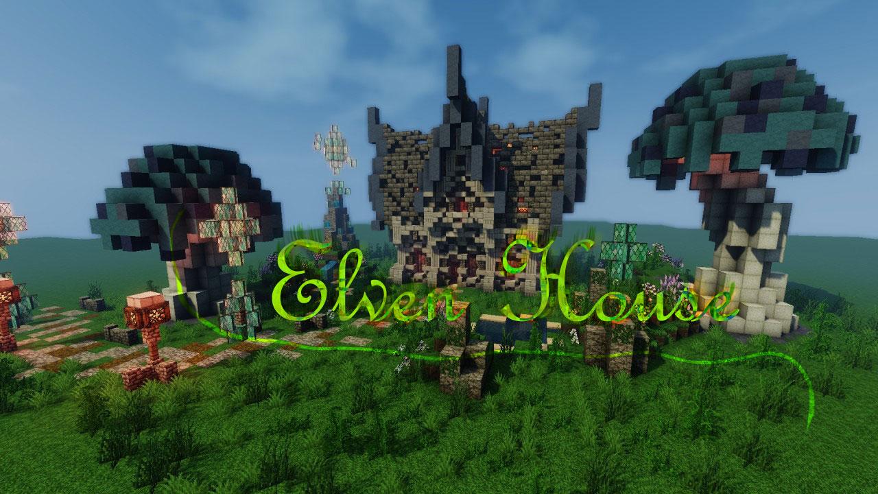 Elven House - эльфийский дом