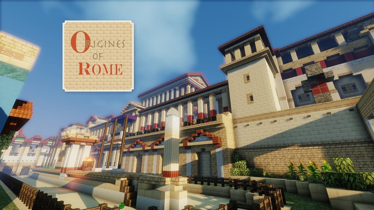 [32x] Origines of Rome - римский стиль