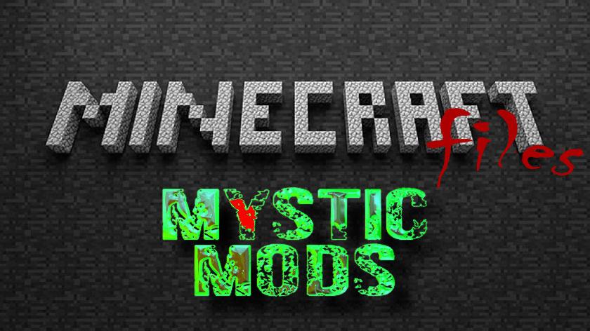 Mystic Mods - руда, руины, камни, подземелья