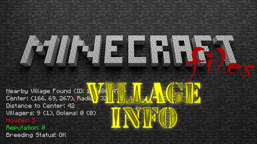 Village Info - как найти деревню