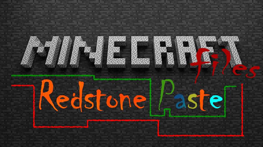 Redstone Paste - липкий редстоун