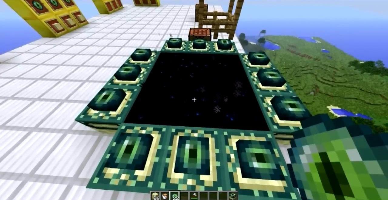 скачать мод craftable end portal 1 7 10