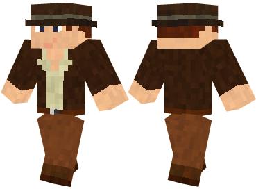 Скин Indiana Jones