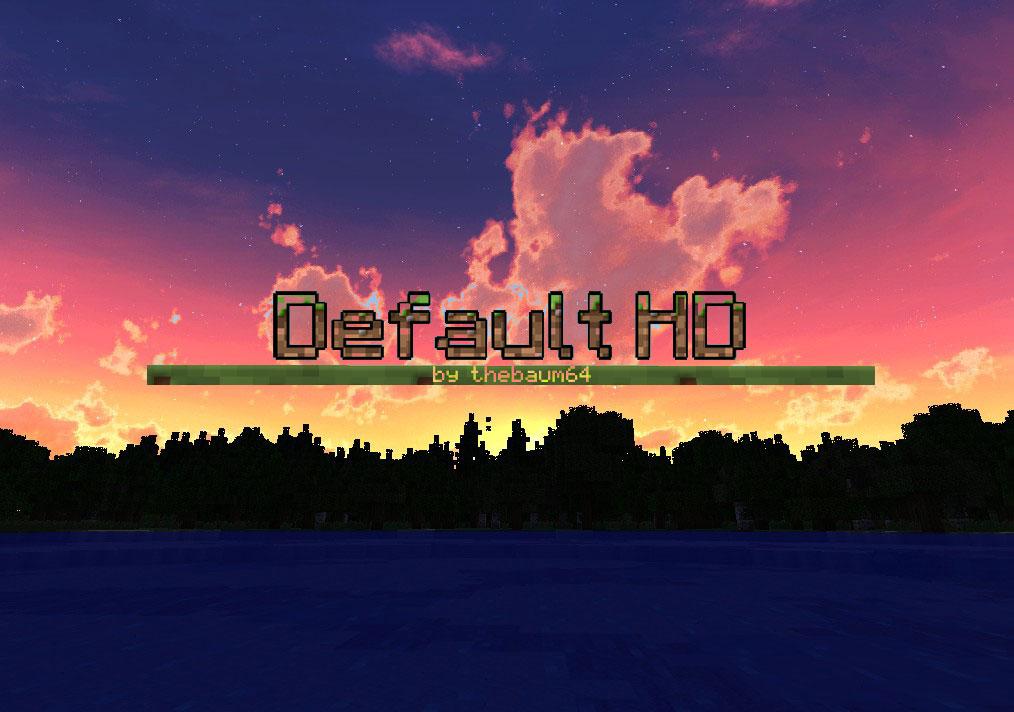 [128x] Default HD - стандартные 3D текстуры в высоком разрешении