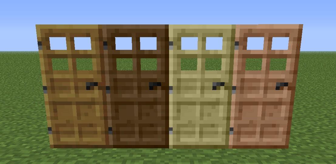 Minecraft как сделать дверь гдз