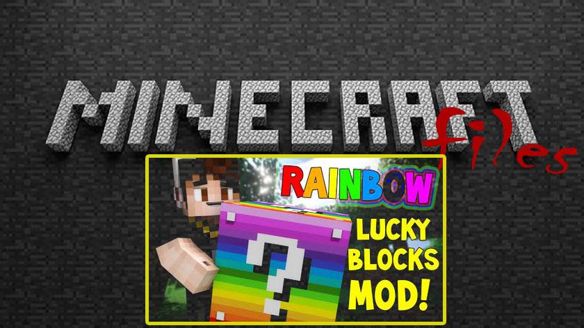 Lucky Block Rainbow - радужный лаки блок