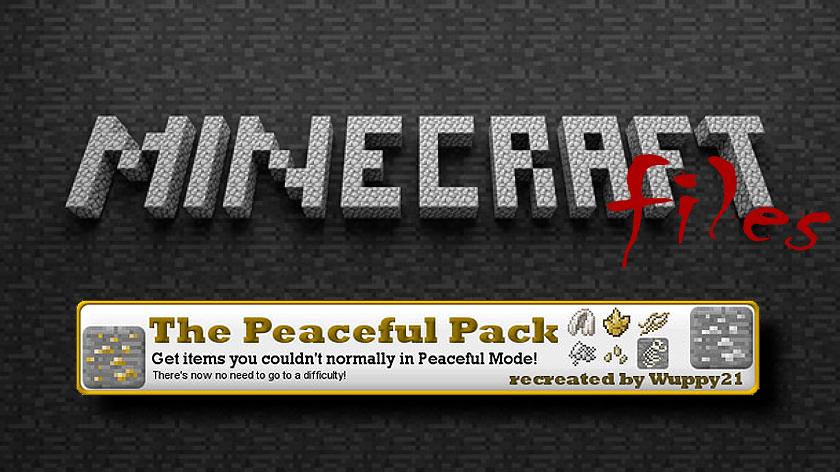 The Peacefulpack - дроп с мобов