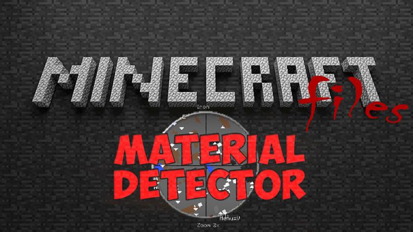 Material Detector - где найти руду и ресурсы