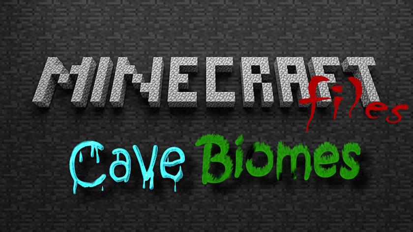 CaveBiomes - биомы в подземельях