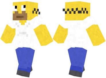 Скин Homer Simpson