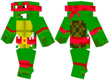 Скин Teenage Mutant Ninja Turtle
