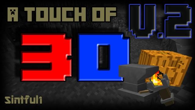 [16x] A Touch Of 3D - настоящие 3D текстуры