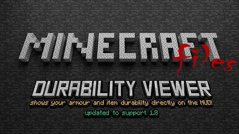Durability Viewer - наглядная прочность