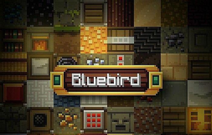 [16x] Bluebird - простой и красивый ресурс-пак