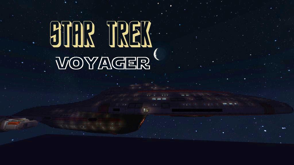 Star Trek Voyager - космический корабль