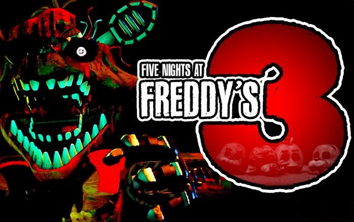 [16x] Five Nights at Freddy's 3 - страшные текстуры