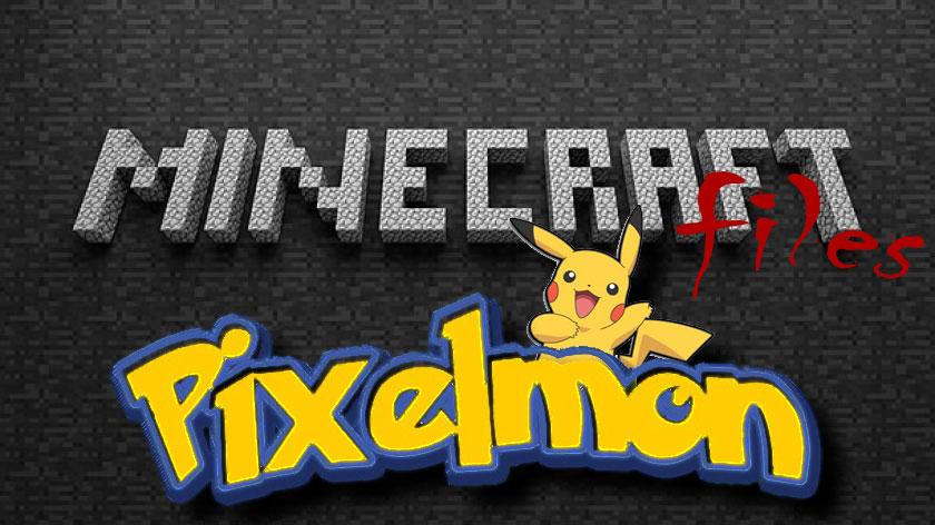 Pixelmon - покемоны