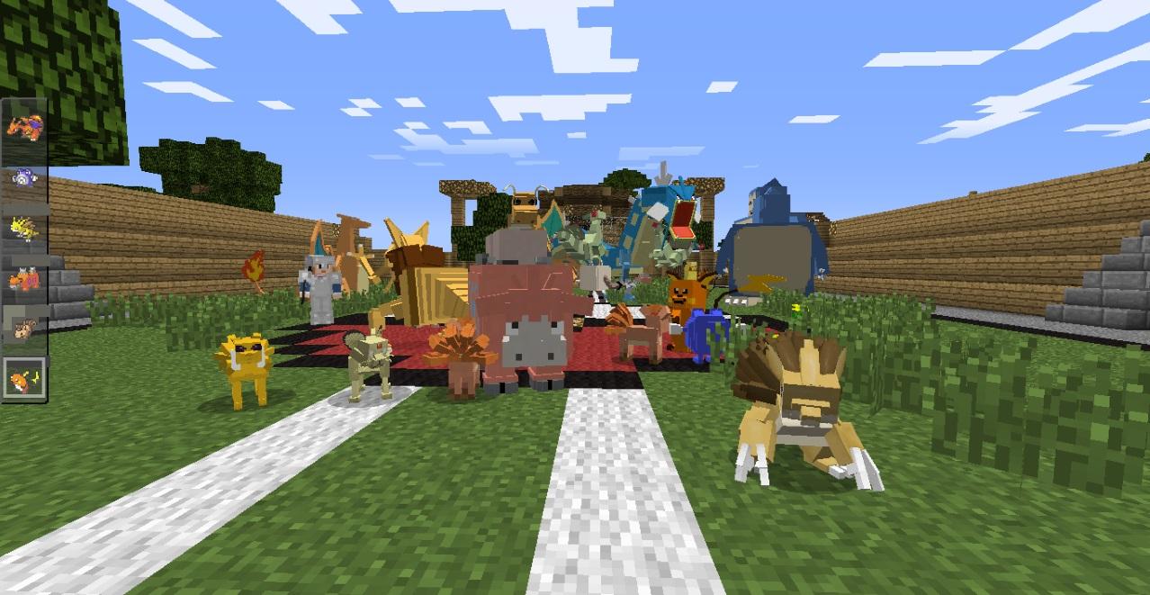 Скачать мод на покемонов для Minecraft 1.7.10 » Лучшие ...