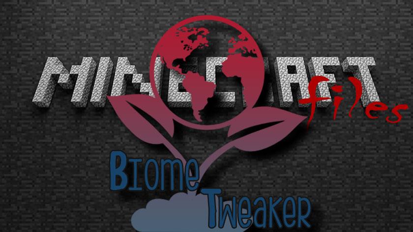 BiomeTweaker - настройка биомов